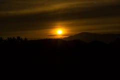 Ljus - guling Arkivfoto