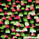 Ljus handdrawn vattenfärgbakgrundstextur Arkivbilder