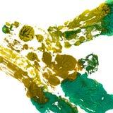 Ljus handdrawn vattenfärgbakgrundstextur Arkivfoton