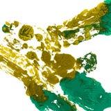 Ljus handdrawn vattenfärgbakgrundstextur Fotografering för Bildbyråer
