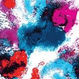 Ljus handdrawn vattenfärgbakgrundstextur Royaltyfri Fotografi