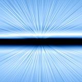 ljus hastighet för tryckvåg Arkivbild