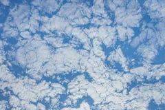 Ljus himmel i morgonen Känner sig nytt och rent Royaltyfri Foto