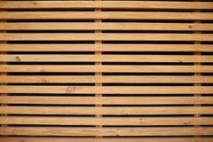 Ljus - horisontalwood plankabakgrund för brun tappning i svarta linjer Arkivbilder