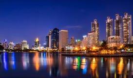 Ljus i Bangkok Royaltyfria Foton