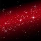 Ljus i effekt för kosmosbakgrundsbokeh. Royaltyfri Bild