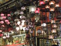 Ljus i Istanbul Arkivfoton