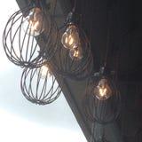 Ljus i London Royaltyfri Fotografi