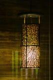 Ljus i sovrum Arkivfoto