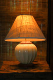 Ljus i sovrum Royaltyfri Fotografi