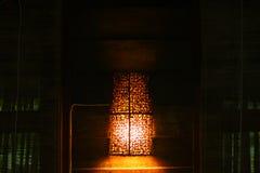 Ljus i sovrum Royaltyfri Bild