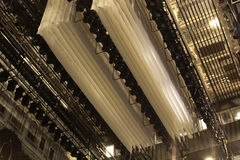 Ljus i teatern Arkivbild
