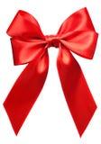 ljus isolerad red för bow Royaltyfria Bilder