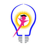 Ljus kandidat royaltyfri illustrationer