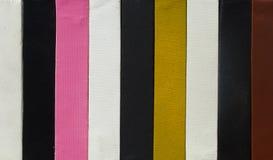 ljus kanfas colors målare Rank Arkivfoton