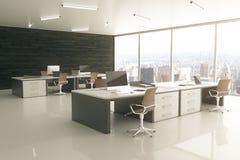 Ljus kontorssida Arkivbilder