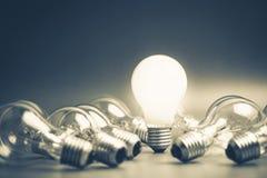 Ljus kula för framgång Arkivbilder