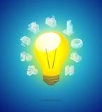 ljus kula för investeringidé Fotografering för Bildbyråer