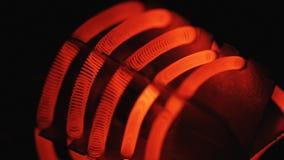 Ljus kula som flimrar, nära övre arkivfilmer