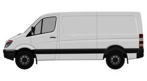Ljus lastbil Fotografering för Bildbyråer