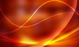 ljus linje orange Royaltyfri Illustrationer