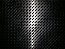 Ljus linje på metallmallbakgrund Arkivfoto