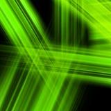 Ljus luminiscent grön yttersida. EPS 10 Royaltyfria Foton