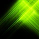 Ljus luminiscent grön yttersida 10 eps Arkivfoto