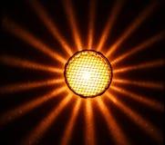 Ljus lykta för stjärna Royaltyfria Foton