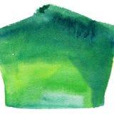 Ljus målad vattenfärgtextur Royaltyfri Bild