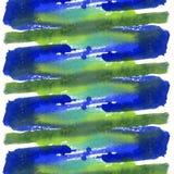 Ljus målad vattenfärgtextur Fotografering för Bildbyråer