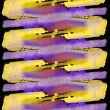Ljus målad vattenfärgtextur Arkivfoton