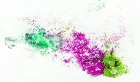 Ljus målad vattenfärgtextur Royaltyfria Bilder
