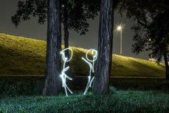 ljus målning Arkivfoto