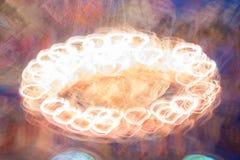 Ljus målning för ljuskrona Arkivfoton