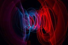 Ljus målningmörkerbakgrund Royaltyfri Fotografi