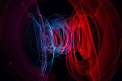 Ljus målningsvartbakgrund Arkivbild