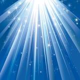 ljus magi Arkivbild