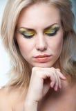 Ljus makeup arkivfoto