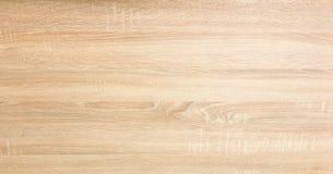 Ljus mjuk wood yttersida som bakgrund, wood textur Grunge tvättade bästa sikt för wood plankatabellmodell Royaltyfri Bild