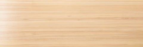 Ljus mjuk wood yttersida som bakgrund, wood textur Wood planka Royaltyfri Foto