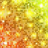 Ljus mosaik extra bakgrundsdiskoformat vektor Arkivfoto
