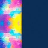 Ljus mosaik för din design med stället för text. Vektor Arkivfoton