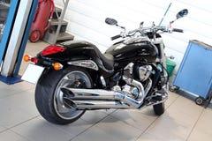 ljus motorcykelväg Royaltyfri Foto