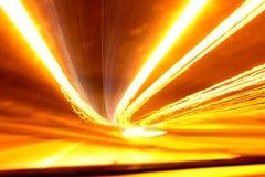 Ljus Motorwaysuddighet Arkivfoto