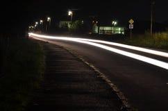 ljus natt Royaltyfri Fotografi