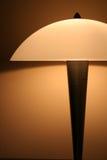 ljus natt för lampa Arkivfoton