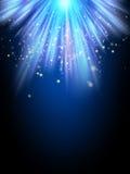 Ljus nattbakgrund 10 eps Royaltyfri Fotografi
