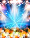 Ljus neonpartibakgrund vektor illustrationer