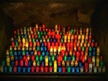 Ljus och färger arkivbild